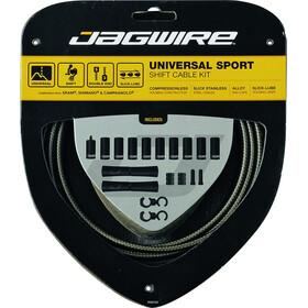 Jagwire Sport Universal Schaltzugset für Shimano/SRAM/Campagnolo silber